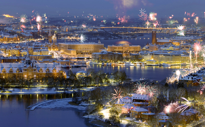 Image result for new year eve in Stockholm sweden